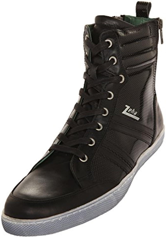 Zeha Sneakers Sneaker High Cut Black (Lack Kombi) 907.02