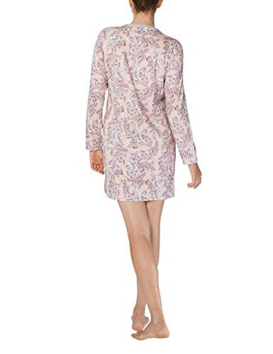 Calida Damen Nachthemd Gwyneth Grau (Stein Meliert 096)