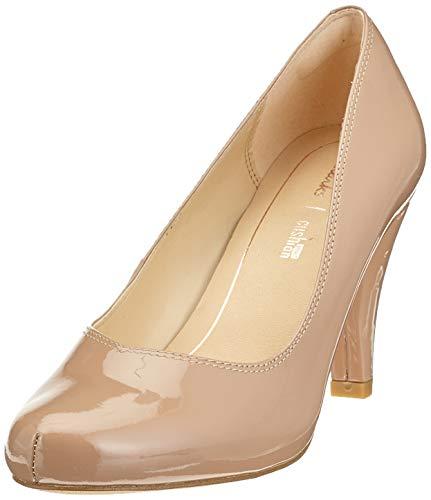 Clarks Dalia Rose, Zapatos Tacón Mujer, Beige Nude