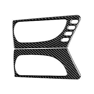 Dpolrs Ersatz für Lexus IS250 NX200 200t 300h 2pcs / Set Innentürgriff-Panel-Abdeckung Feld-Aufkleber-Carbon-Faser-Dekor