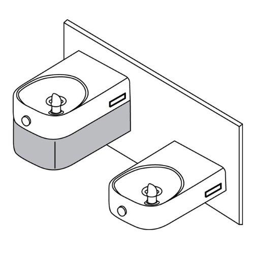 Elkay LKAPR2 Lustrous Satin Water Cooler / Chiller Accessories