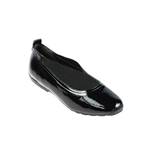 Perlato  9535 Saffiano Noir, Mocassins pour femme Noir