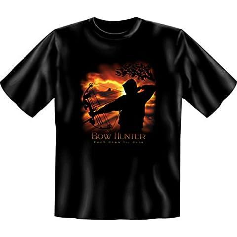 Mythologie aztèque n'ureinwohner du nigéria bow en hunter t-shirt noir 50 Blanc - Noir
