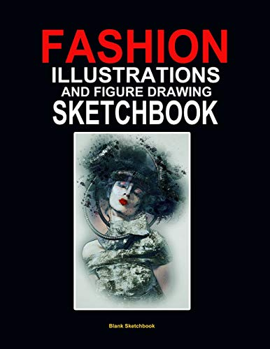 ok: Blank fashion illustrations and figure drawing sketchbook 120 pages 8.5