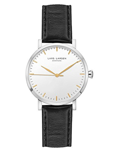 Lars Larsen Mens Watch 143SWBLL