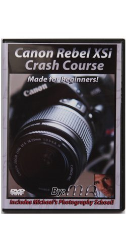 Canon XSI Crash Course Training Tutorial DVD | Made for Beginners! Xsi Dvd