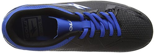 Gola Rapid Vx, Jungen Fußballschuhe Schwarz (Black/Blue)