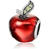 Charm Disney Pomme Interdite - idée Cadeau - Charms Perles Bracelets compatibles Toutes Marques - Soldes d'hiver -