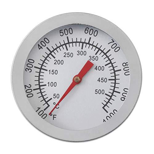 """Longsw Outdoor Edelstahl DIAL Display Küchenthermometer Braten Grill Raucher Grill Fleischthermometer Temperaturanzeige Dia 3\"""""""