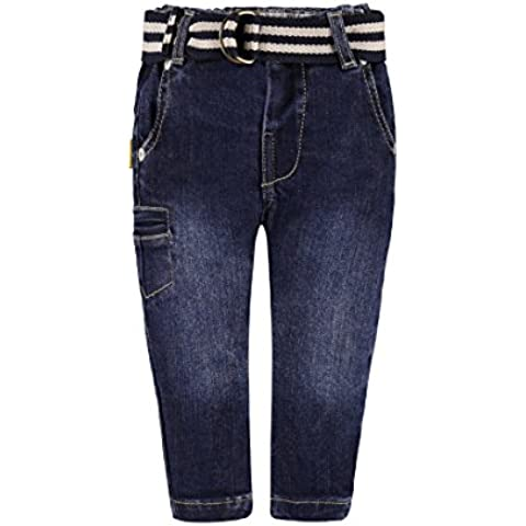 Steiff Hose Jeans, Blu Bambino