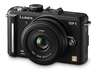 Panasonic Lumix GF1 12.1MP Digital System Camera 20mm Lens Kit - Black