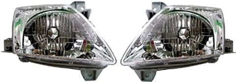 Mazda MPV Replacement Headlight Assembly - 1-Pair by AutoLightsBulbs