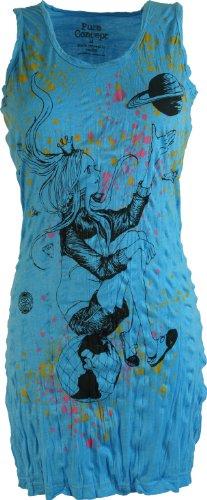 Pure Longshirt, Minikleid Prinzessin auf der Erde / Sure - Shirts Blau