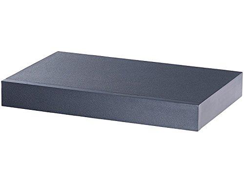 Wandregal mit Schublade | Bücherregal | Hängeregal | Regal | Nachtkästchen (Schwarz) (Bücherregal Schublade)