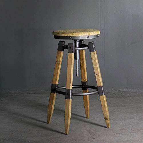 Bar stools-GAP Höhenverstellung- Runder Retro-Barhocker-amerikanischer Klassiker drehen...