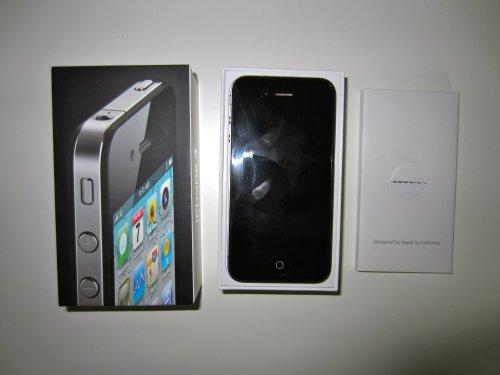 Apple Computer Apple iPhone 4 16GB (EU) schwarz