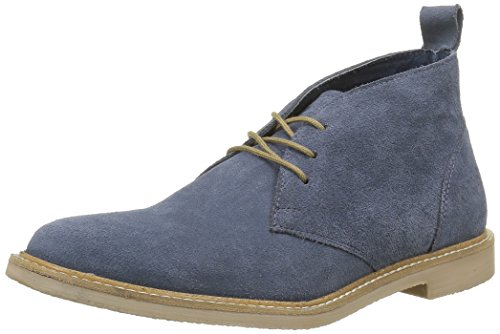 Kickers Tyl, Chaussures Lacées Femme Bleu (Marine)