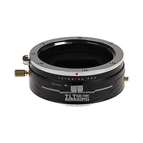 Fotodiox Pro TLT ROKR - Tilt/Shift Lens Mount Adapter for Canon EOS (EF) D/SLR Lenses to Fujifilm Fuji X-Serie Mirrorless Camera Body Tilt-adapter