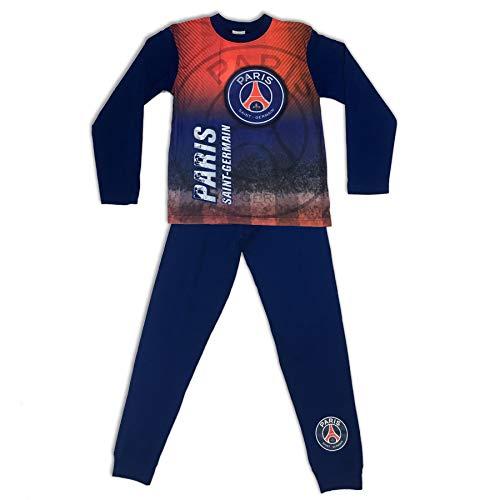 e9eec600e Boys Paris Saint Germain Football Club Blue   Red Snuggle Fit Pyjamas 4-5  Years