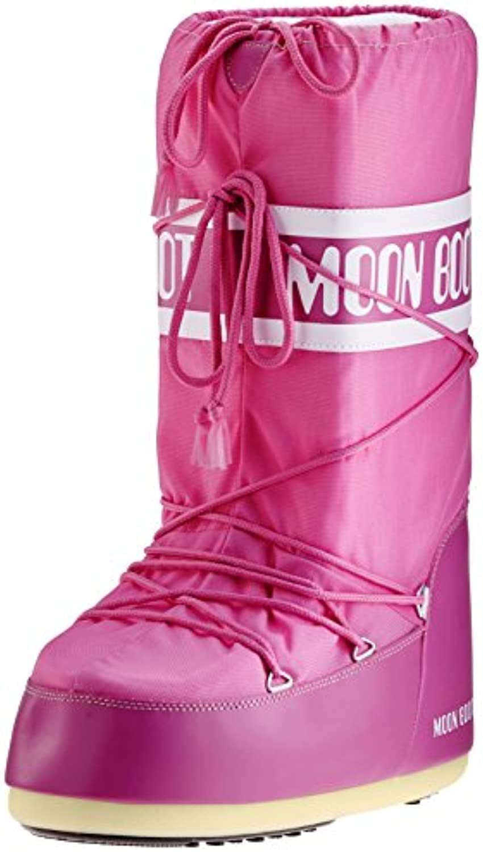 Tecnica Moon Boot Nylon, Botas de Nieve Unisex Adulto, Rosa (Orquídea 072), 42-44 EU