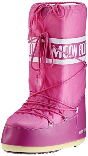 Moon Boot Nylon 14004400 - Bottes de Neige - Mixte Enfant orchidée 23-26 EU
