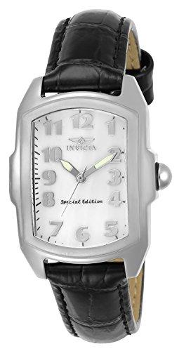 Invicta 5168 Lupah Damen Uhr Edelstahl Quarz weißen Zifferblat