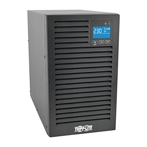 TRIPP LITE 2000VA 1800W SmartOnline 230V On-Line Double-Conversion UPS, Tower, Extended Run, Network Card Options, LCD, USB, DB9 -