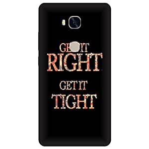 Digi Fashion Designer Back Cover with direct 3D sublimation printing for Honor 5x