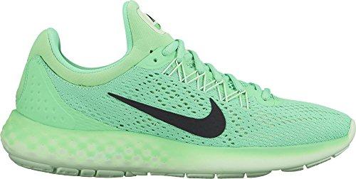 Nike Wmns Lunar Skyelux, Chaussures de Running Compétition Femme Multicolore (Verde / Negro / Electro Green / Black / Vapor Green)