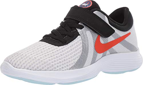 Nike Unisex-Kinder Revolution 4 Sd (PSV) Cross-Trainer Weiß (Pure Platinum/Team Orange-Blac 001) 32 EU - Team Orange Schuhe