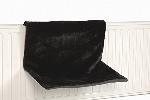BEEZTEES Sleepy Hamac pour Chat Noir 46 x 31 x 24 cm