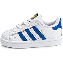 Zapatillas adidas – Superstar I blanco/azul/blanco
