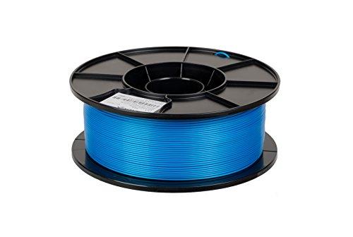 JANBEX PLA Filament 1,75 mm 1kg Rolle für 3D Drucker oder Stift in Vakuumverpackung (Blau)
