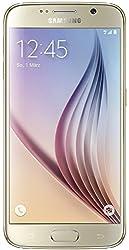 Samsung Galaxy S6 Smartphone (5,1 Zoll (12,9 cm) Touch-Display, 32 GB Speicher, Android 5.0) gold (Nur für Europäische SIM-Karte)