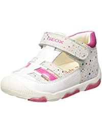 Geox B New Balu' Girl A, Zapatillas para Bebés