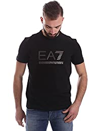 Emporio Armani EA7 t-shirt manches courtes ras du cou homme noir