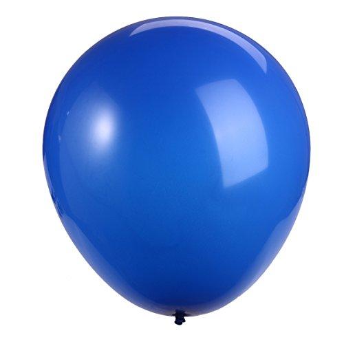 NUOLUX 36 pulgadas de globo globo gigante globo de látex globo para fuentes de la decoración del partido (azul oscuro)