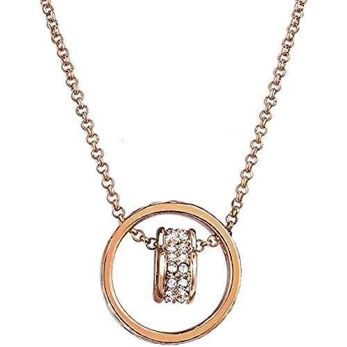 ofertas para el dia de la madre Fashionvictime - Mujer Colgante - Eclats Diamant - Chapado En Oro - Cristal - Joyeria Fashion -
