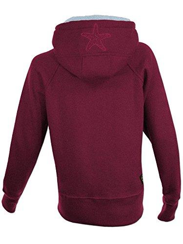 45f845f7c69914 SEESTERN Damen Kapuzen Sweat Shirt Jacke Pullover Zip Hoody Sweater Gr.S-2XL