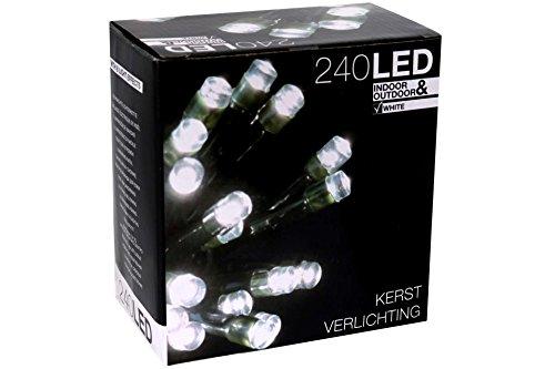 Good Crack Haus 555r971 U2013 Lichterkette 240 LED Weiß Mit Install