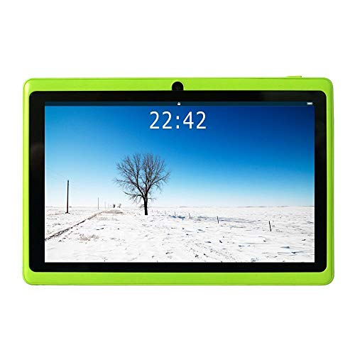 B Q88 7-Zoll-Tablet-PC, 1 GB RAM + 8 GB ROM, Google Android 4.4, AllwinnerA33-Quad-Core-Cortex-A7 1,5 GHz, HD-Touchscreen, Dual-Kamera, WI-FI, Bluetooth (Grün) ()