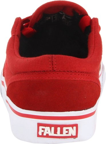 Fallen THE EASY 41070056, Chaussures de skateboard mixte adulte Blood Red
