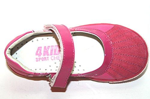 4kids Cherie 317 Mädchen Sport Schuhe Kinder Pink Pink ohne Karton 24 Ballerinas UfUpqx