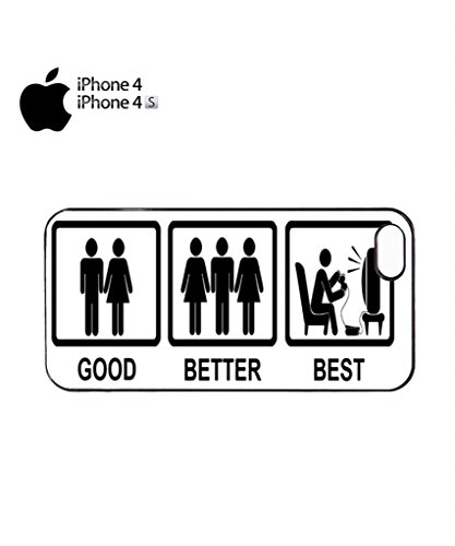Good Better Best Game Console Mobile Cell Phone Case Cover iPhone 5c Black Noir