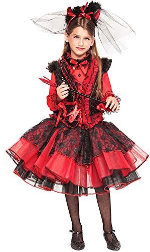 KOSTUumlM Fasching Karneval DIAVOLETTA Baby fuumlr KARNAVALKOSTUumlME Fancy Dress Halloween Cosplay Veneziano Party 28042 Size ()
