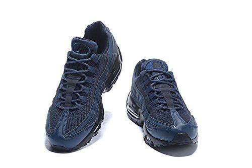 NLKE Herren Air Max 95 Sneaker (95 Schwarz Max Air Blau Und)
