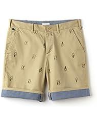 Lacoste Men's Live Beige Printed Men's Bermuda Shorts