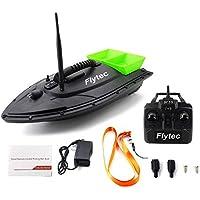 Erduo Flytec 2011-5 Herramienta de Pesca Smart RC Bait Boat Juguete Motor Dual Buscador de Peces Fish Boat Control Remoto Barco de Pesca Barco Barco - Verde