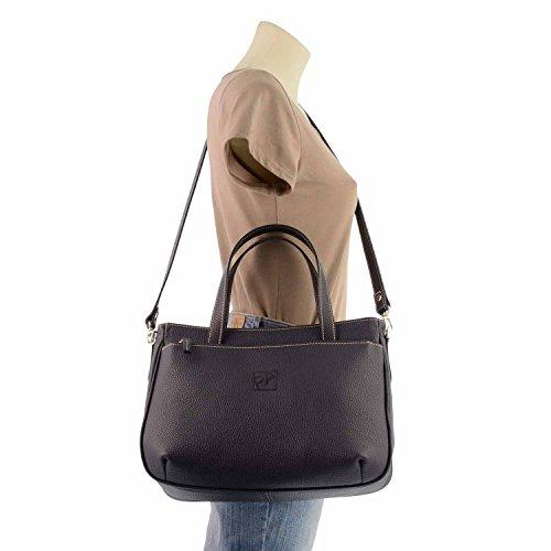 sacchetto di cuoio 2 maniglie MARINO