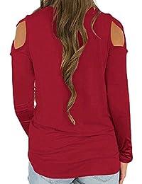 Amazon.es: Camisetas, tops y blusas - Mujer: Ropa: Camisetas, Blusas y camisas, Camisetas de manga larga y mucho más